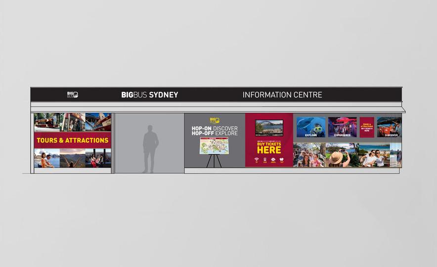 Big Bus Sydney – Retail Design