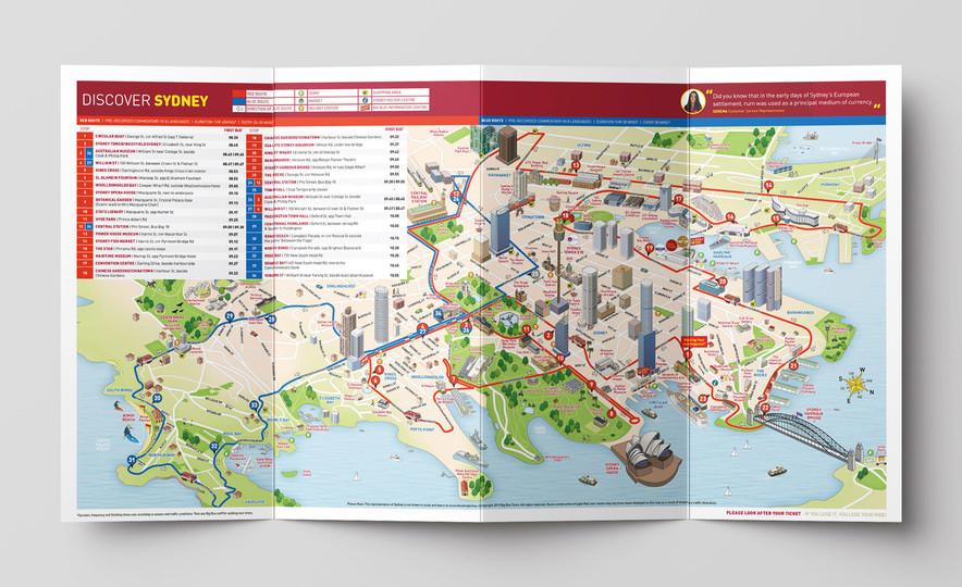 Big Bus Sydney – Map