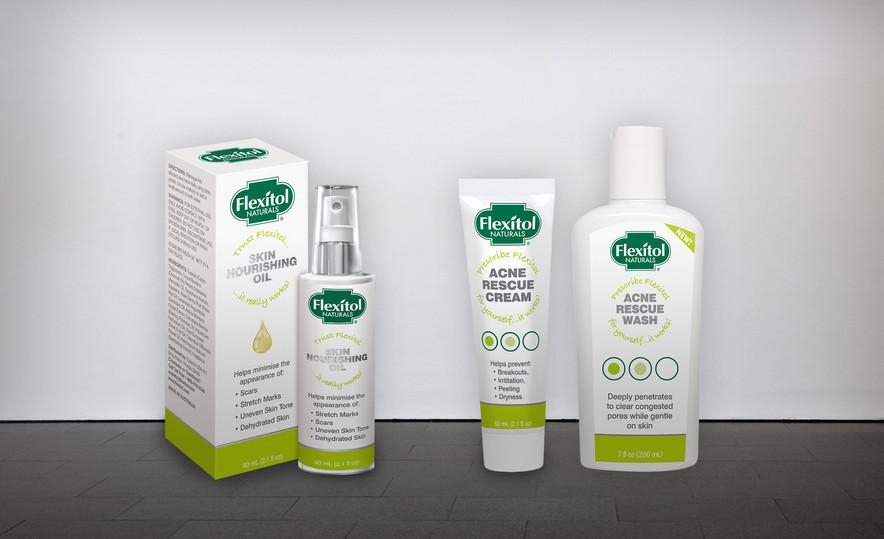 Flexitol – Skin Oil & Acne Rescue