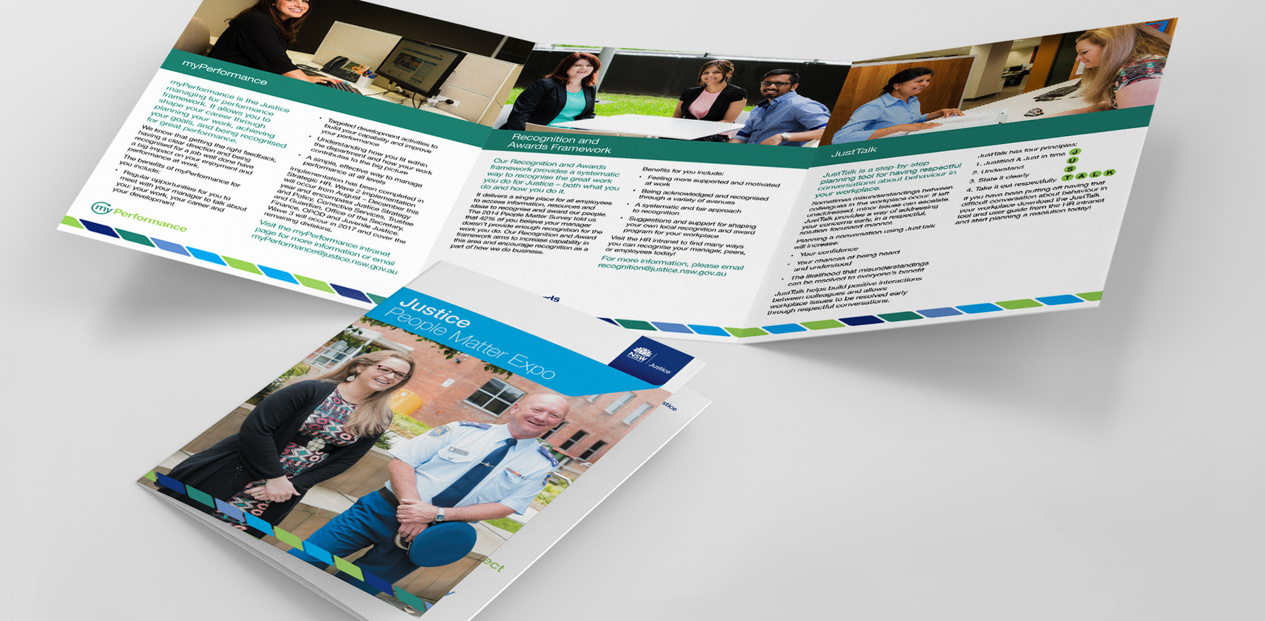NSW Department of Justice – Flyer