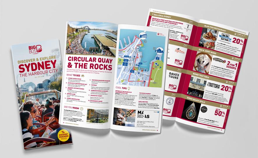 Big Bus Sydney – Guide Book