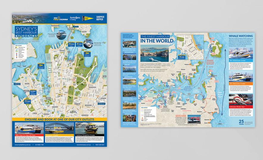My Fast Ferry Sydney – Map