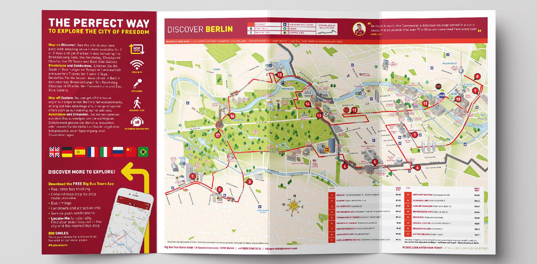 Big Bus Berlin – Map