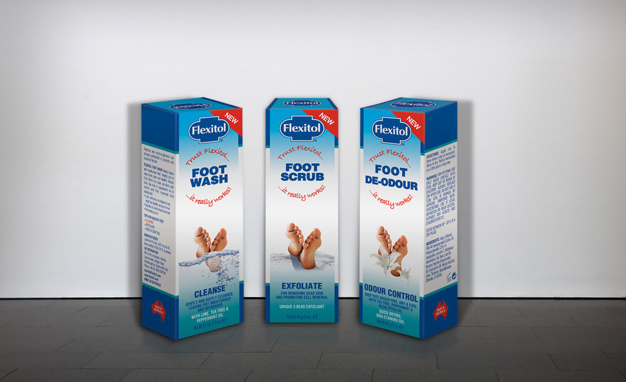 Flexitol – Foot Wash, Scrub & De-odour