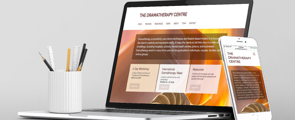 The Dramatherapy Centre – Website