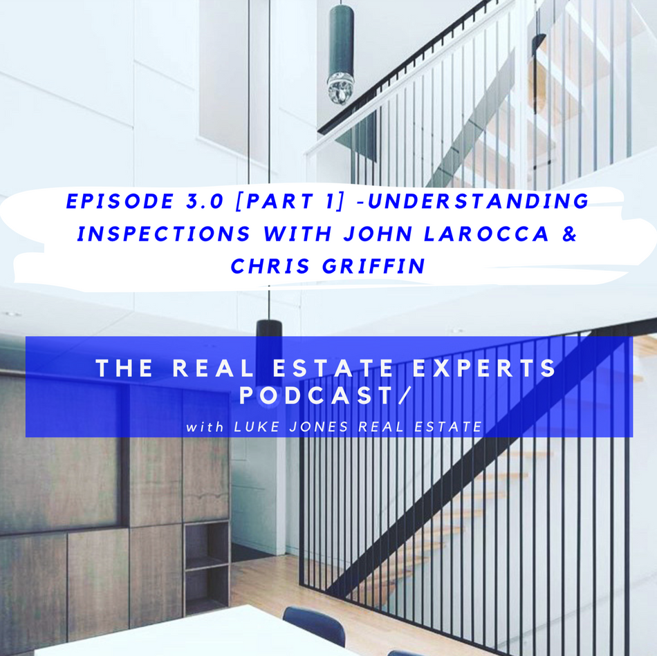 PODCAST Episode 3.0 [part 1] -Understanding Inspections with John LaRocca & Chris Griffin