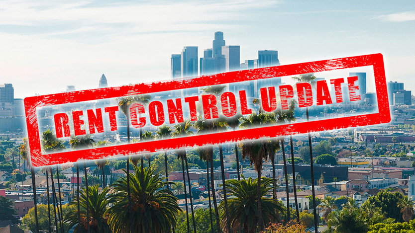 SB50 and other Rent Control Updates