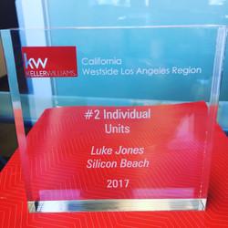 Keller Williams Top Agent Award