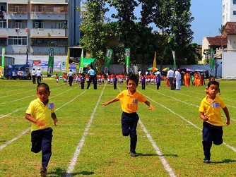 The Annual Primary Inter-House Athletic Meet 2017