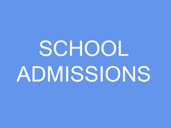 School Admissions for Grade 01 - 2018