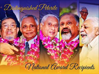 DISTINGUISHED PETERITE NATIONAL AWARD RECIPIENTS