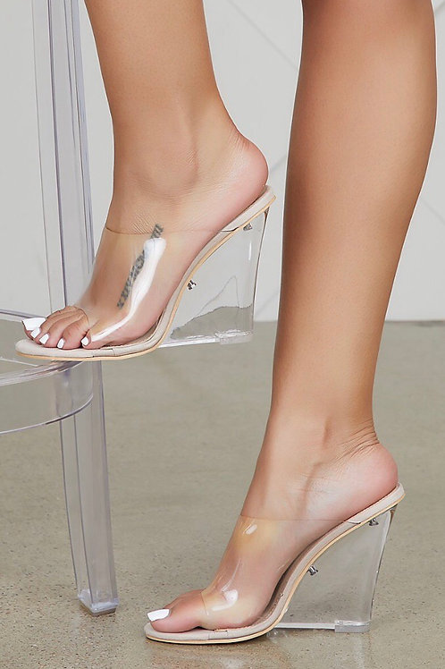 Yonce Wedges nude