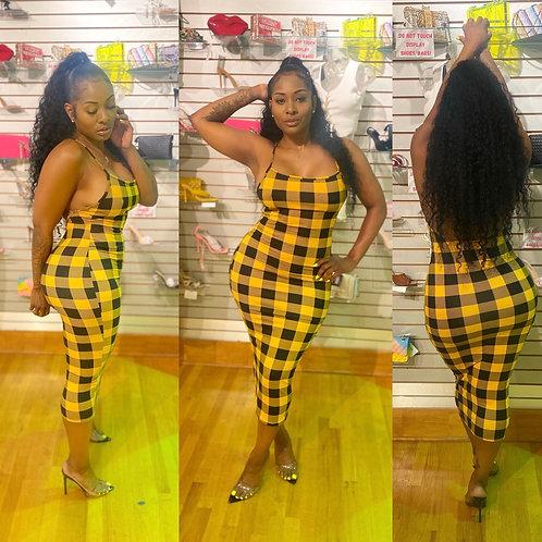 Beehive Midi Dress