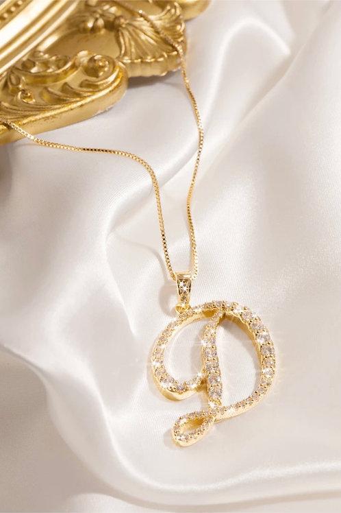 Letter Necklace D