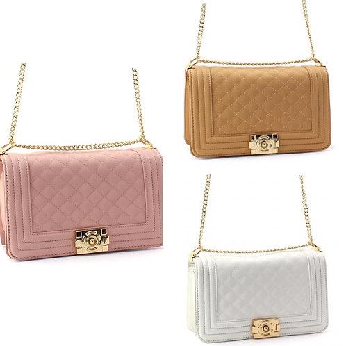 Crystal Satchel Bag
