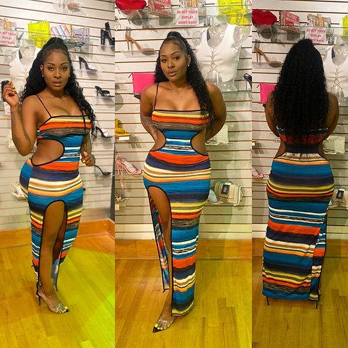 Dangerous curves Maxi dress