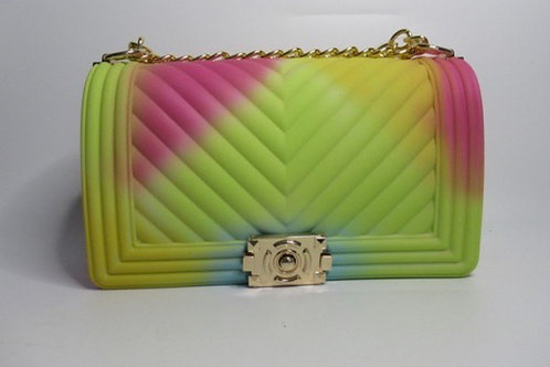 Cotton Candy Jelly Clutch Large
