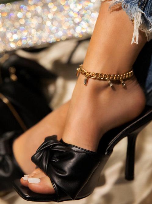 True Love Heels black