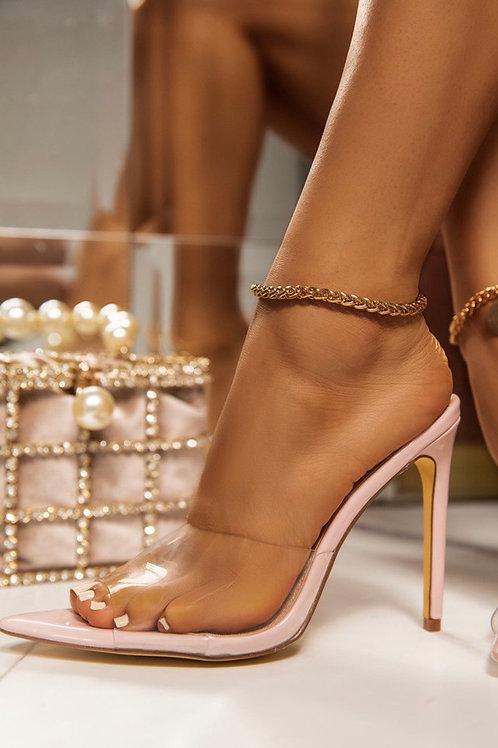 Vanessa Pointy toe heels nude