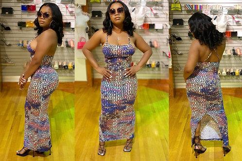 Makin' A scene Maxi Dress