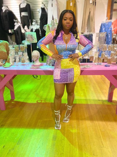 Pretty Gangsta mini dress