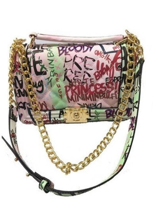 Pretty Graffiti Shoulder Bag