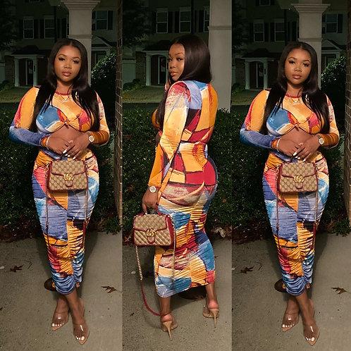 A Good Look Midi Dress