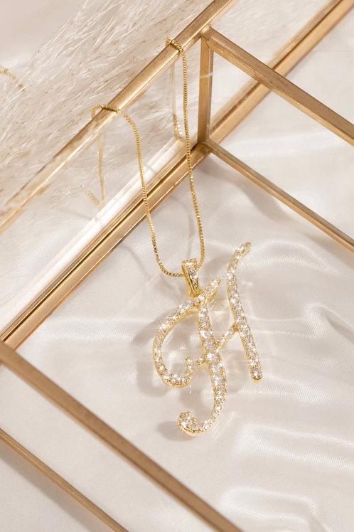 H Letter Necklace
