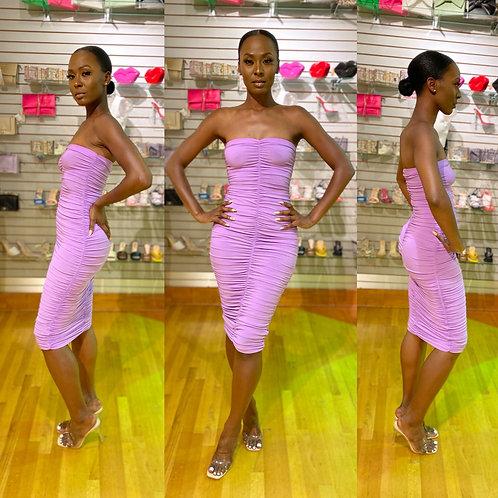 Ciara Ruched dress