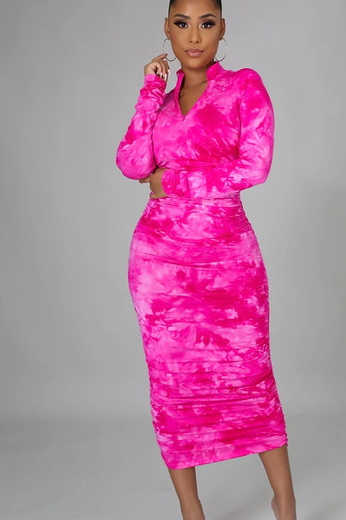 Tamia Ruched dress