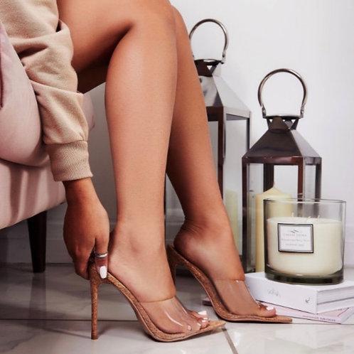 Bailey Pointy toe heels cork