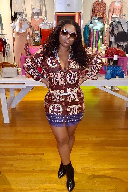 LV Love Shirt dress
