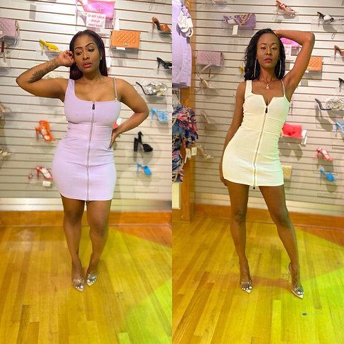 Whole Lotta Class mini dress