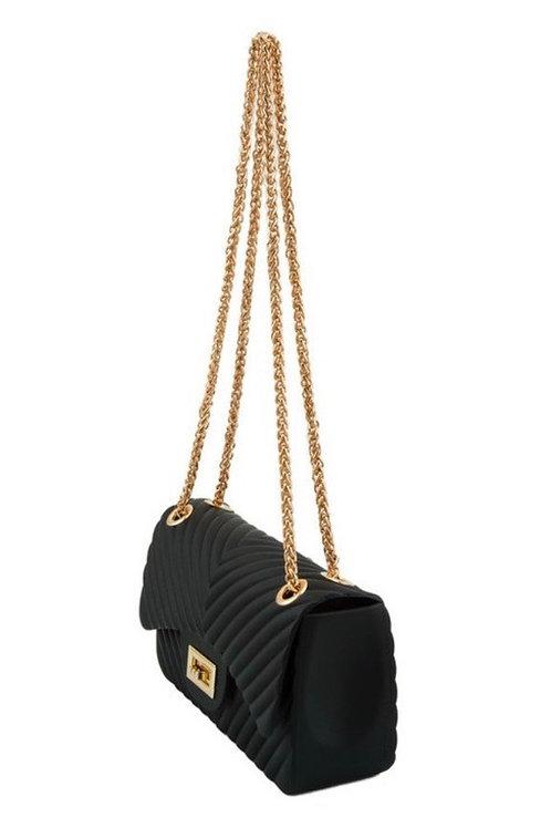 Sasha Classic Clutch Black