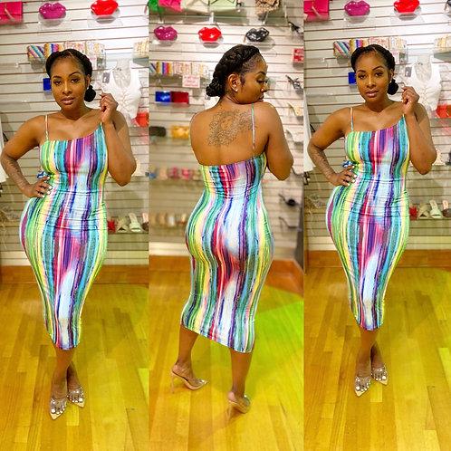 Pretty Seas Midi Dress