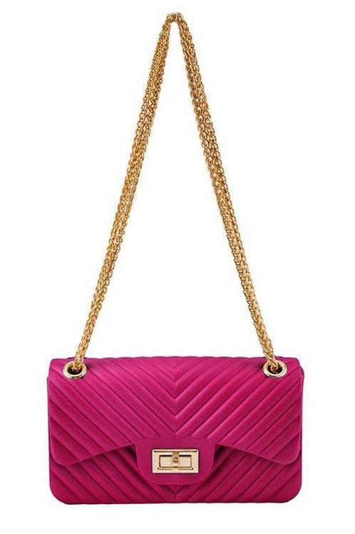 Sasha Classic Clutch Pink