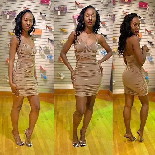 Head Turner mini dress
