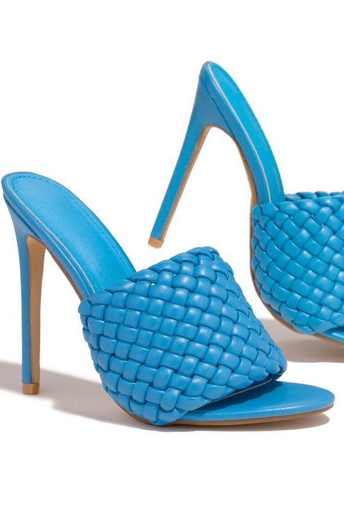 Alina Heels Blue