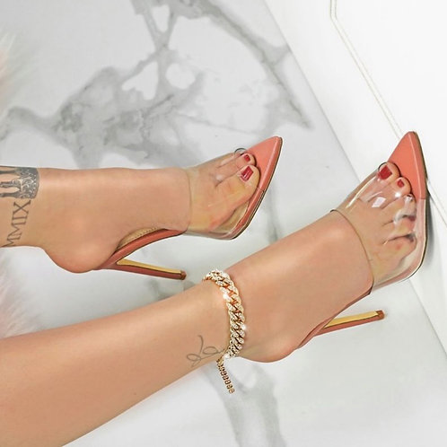 Bailey Pointy toe heels Rose