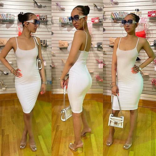 Barbie Basic Dress White