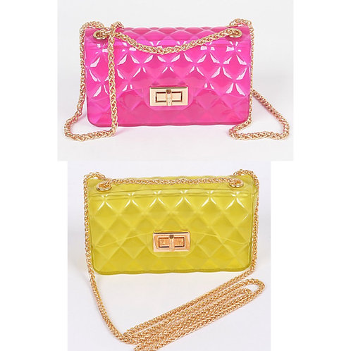 Skittles Small Jelly Clutch