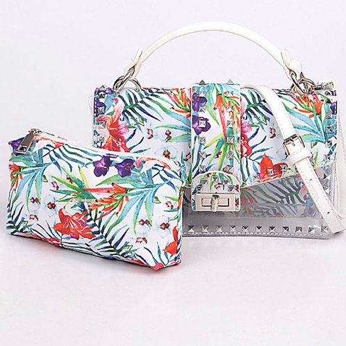 Welcome to Hawaii Clutch White
