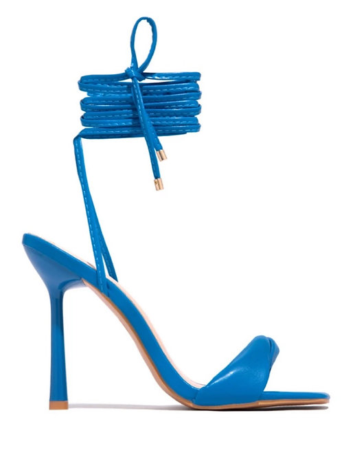 Marilyn Lace Up Heels
