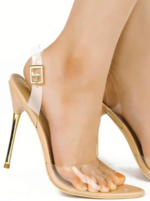 Dana Heels in Nude