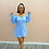Thumbnail: Amira Dress Blue
