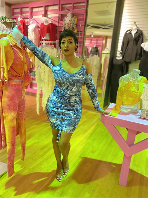Billy Jean mini dress