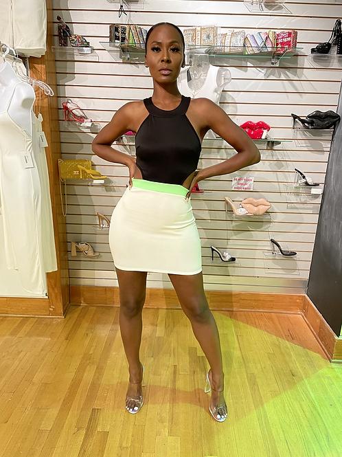 Kendall cutout mini dress