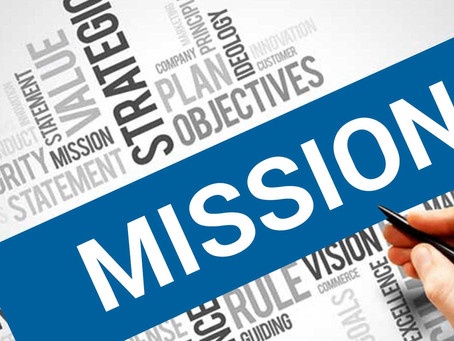 The Mission Starts With Me