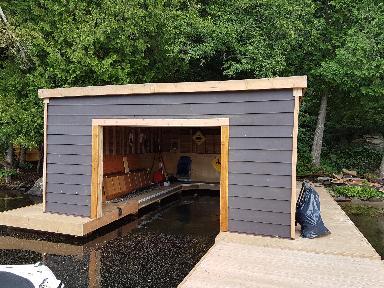 Boat house repair1