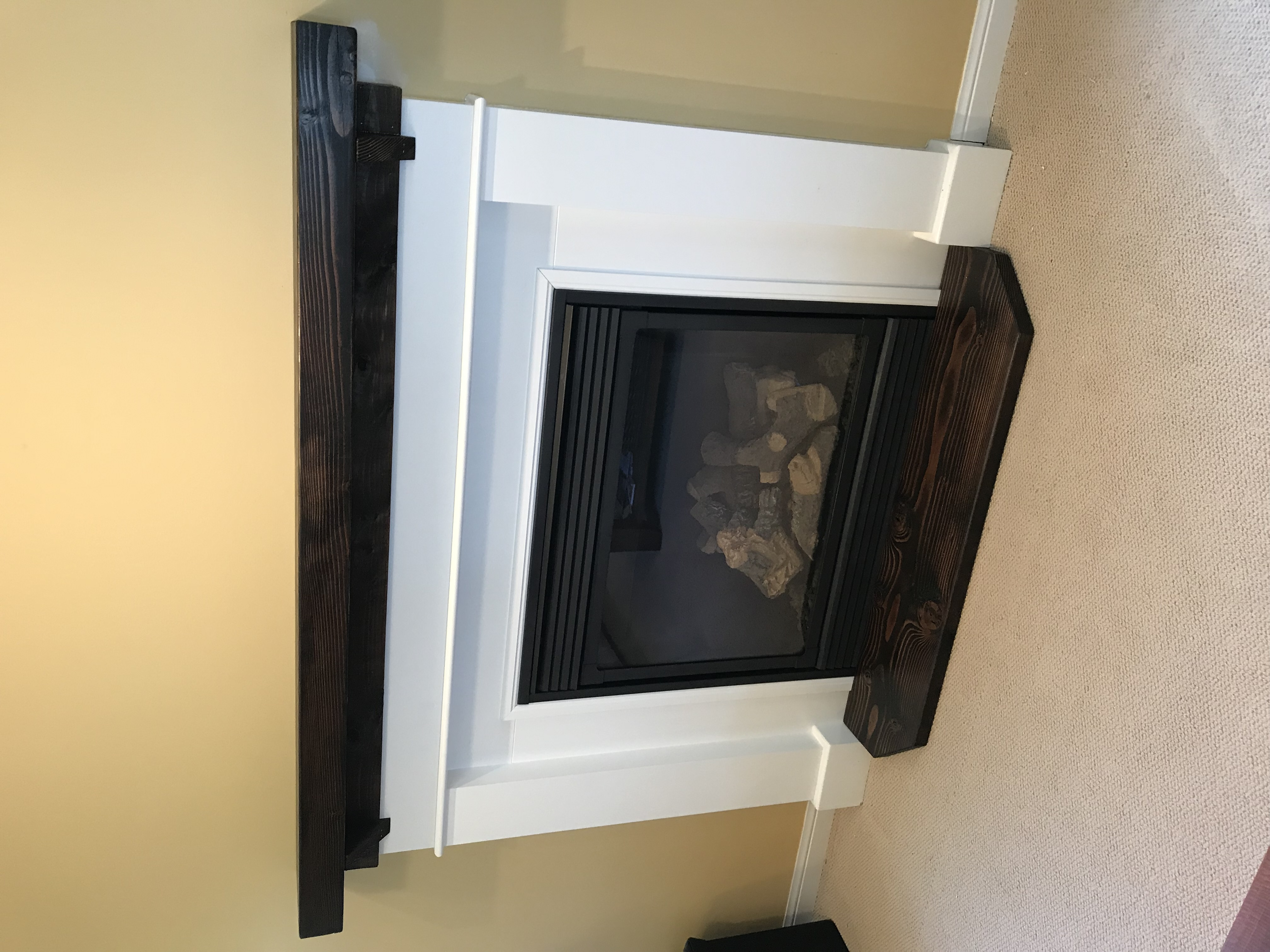 Custom Fireplace mantle and hearths